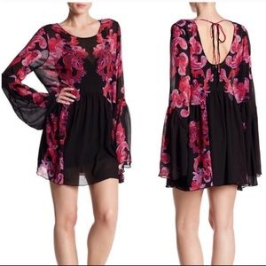 Free People Symphony Bell Sleeves Dress